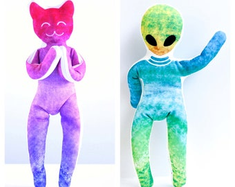 YogAlien and YogaCat India Toys for Children