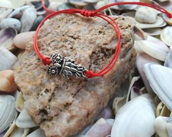 Owl Braclet, Red String Bracelet, Shamballa Bracelet, Kabbalah Bracelet, Wish Bracelet, Friendship Bracelet,Pink String Bracelet, Minimalist