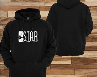 Star labs Flash The TV Series sweatshirt Hoodie pull over