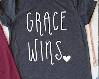 Grace Wins Tee