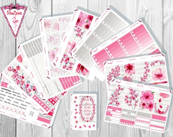 Cherry Blossom Weekly Kit - Happy Planner