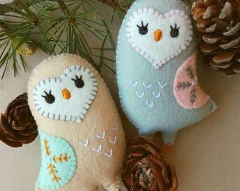 Felt owl pattern  Etsy