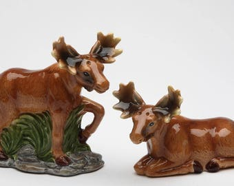 Moose Salt and Pepper Shaker (20740)