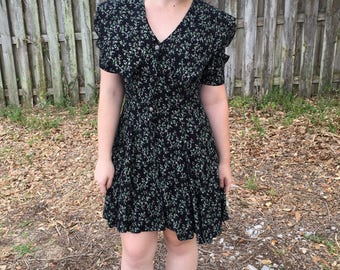 Floral Sailor Dress