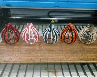 "Vector drawing CNC Original lamp - shade ""Pear"""