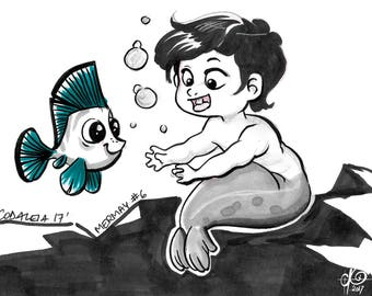 MERMAY - The baby and the Fish