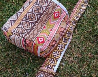 Aztecian style berimbau bag - berimbao