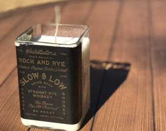 Low & Slow Rock and Rye Candle