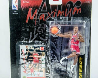 Ultra Rare NBA Maximum Air Michael Jordan vs. Bird Action Figure Limited Edition