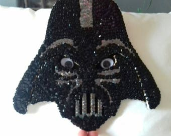 Nice bust wooden Darth Vader star wars decor wall