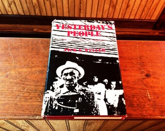 Yesterday's People by Jack E Weller,life in the contemporary Appalachia, first edition, Kentucky university press, American history book