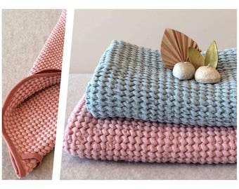 Rose Linen towel, Linen bath towel, Linen towels, Kids towels, Baby towels