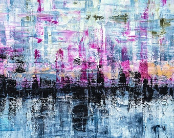 High quality abstract art print - Void