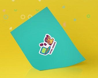 BATTERY OPERATED Toy Organization Label - Vinyl Sticker for Toy Organizing - Playroom Organizational Sticker