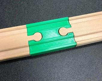 Wooden Train Track Female Connector - Fits Brio/Imaginarium/Thomas/Ikea