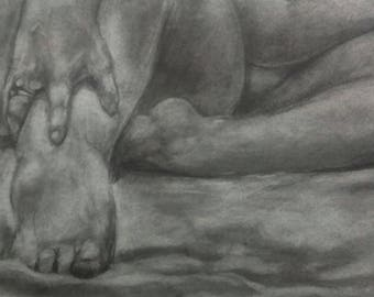 Hand and Feet ORIGINAL DRAWING