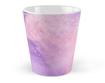 Original Art Print Coffee Tea Mug Cup - Fairy Floss. Custom Order, Pre Order.