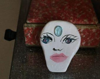 Brooch - Womens' handmade: Bindi