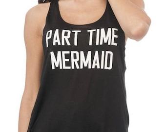 Part Time Mermaid Tank Top