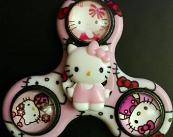 Hello Kitty Custom Fidget Spinner