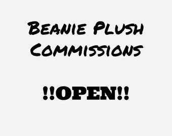 Beanie Plush Commissions OPEN