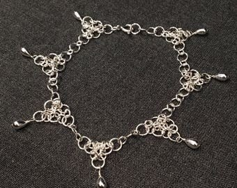 Sterling Silver Gypsy Anklet