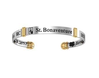 St. Bonaventure Silver Bangle