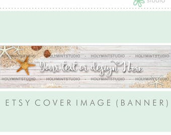 Etsy Banner, Etsy Shop Banner, Summer Cover Image, Etsy Cover Photo, Cover Image, Premade Cover Photo, Custom Etsy Banner, Facebook Banner
