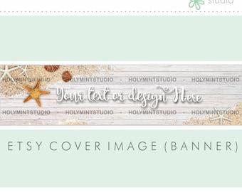 Etsy Banner, Etsy Shop Banner, Summer Cover Image, Etsy Cover Photo, Cover Image, Premade Cover Photo, Custom Etsy Banner, Facebook Banner