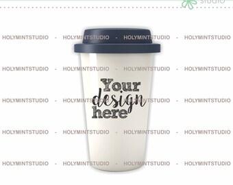 Ceramic Travel Mug Mockup, Mug Mockup, Coffee Cup Mockup, Styled Mug Mockup, Styled Stock Photography, Coffee Mug Mockup, Blank Mug Mockup