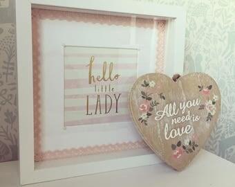 Personalised Frame/Baby Gift/Christening Gift/Nursery Decor/Nursery Frame/Personalised Gift/Baby Shower Gift/Birthday Gift