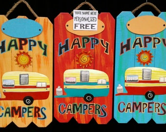 Happy Campers (Personalized)