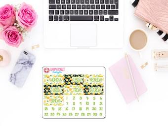 Lemon Poppy Date Covers
