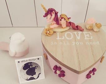 Pony Unicorn jewelry box