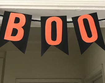 Cute and simple BOO banner