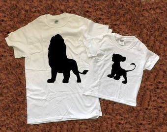 Daddy and Me Outfits, Lion King Shirt, Daddy and Son, Matching Disney Shirts, Jedi In Training Shirt, Dad and Baby Matching Shirts