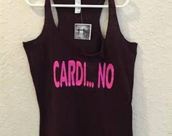 Cardi..NO workout tank