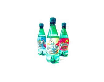 Perrier By Warhol, 2013 Andy Warhol Inspired Limited Edition Perrier Bottles