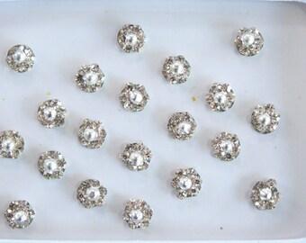 Tiny Silver Round Bindis Stickers,Wedding Round Bindis,Stone Bindis,Silver Bindis,India Bindis,Bollywood Bindis,Self Adhesive Stickers