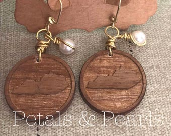 """The """"My Old Kentucky Home"""" Earrings"""