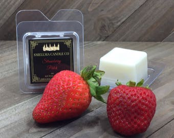 Strawberry Patch Soy Wax Melts, Wax Melts, Soy Wax Melts, Soy Wax Tart, Soy Candle Melts, Wax Warmer, Scented Soy Tart Sample