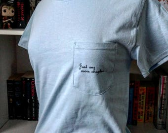 Just one more chapter... Pocket Tee
