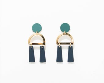DEUX DROP EARRINGS