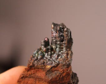 Beautiful goethite botryoidal with iridescence