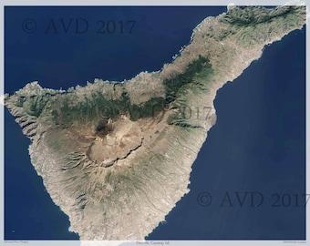 Tenerife Canary Islands Digital Print