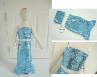 Little mermaid birthday outfit Mermaid costume toddler Mermaid outfit Girl mermaid dress Mermaid girls outfit Girls mermaid tail Tail skirt