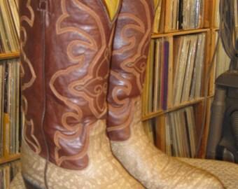 Men's 2-tone Nocona cowboy boots