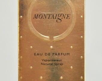 Caron Montaigne Eau de Parfum Edp 50Ml Spray Perfume Woman Rare Vintage Old 1987 New