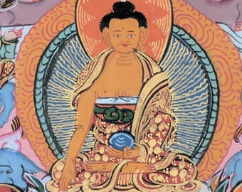 Original Thankas Portrait from Kathmandu | Buddah | Buddhism