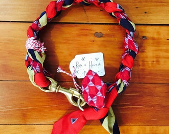 Deluxe Plait Dog Collar